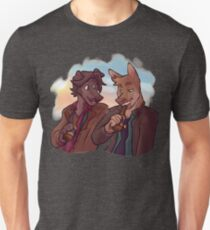 Supernatural Sam and Dean Winchester inspired Furry Dogs T-Shirt