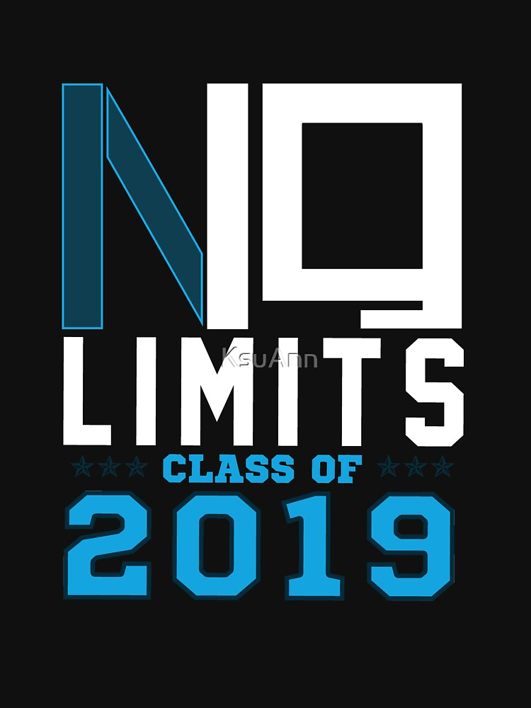 No Limits Class of 2019 by KsuAnn
