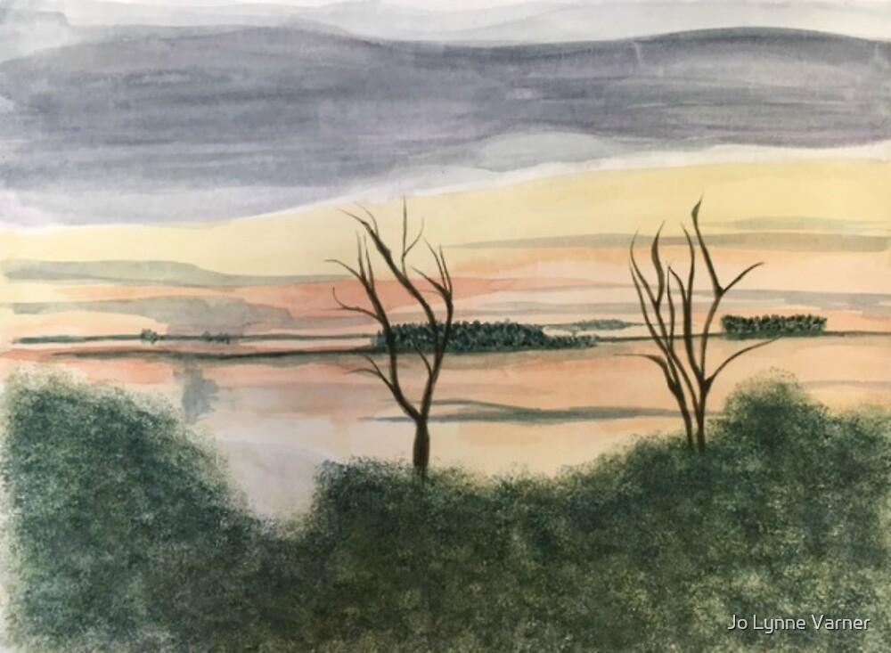African Sunset 2 by Jo Lynne Varner