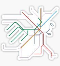 Boston MBTA Sticker