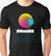 Vaporwave, Retro Futurism Summer Sunset T-Shirt T-Shirt