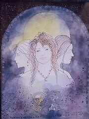 Maiden, Mother, and Crone by Firebane