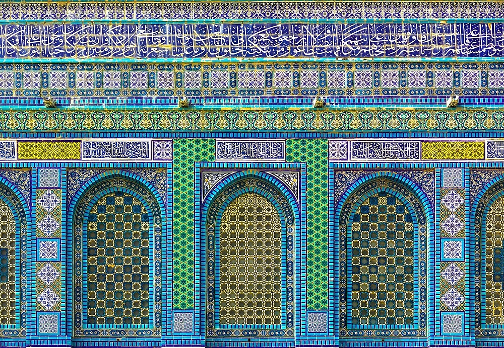 Dome of the Rock by deltoid
