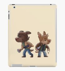 Supernatural Sam & Dean Winchester inspired Pixel Dog Furry iPad Case/Skin