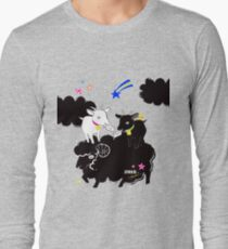 0247712ad7a2 Camiseta de manga larga OVEJAS FLUIDOS, CABRA CORREO