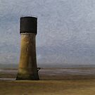Spurn Point - Watercolour effect by Glen Allen