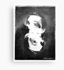 Woman In Ink Canvas Print