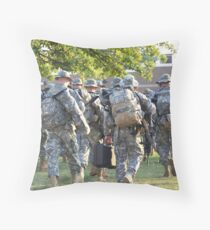 Second Deployment  Throw Pillow