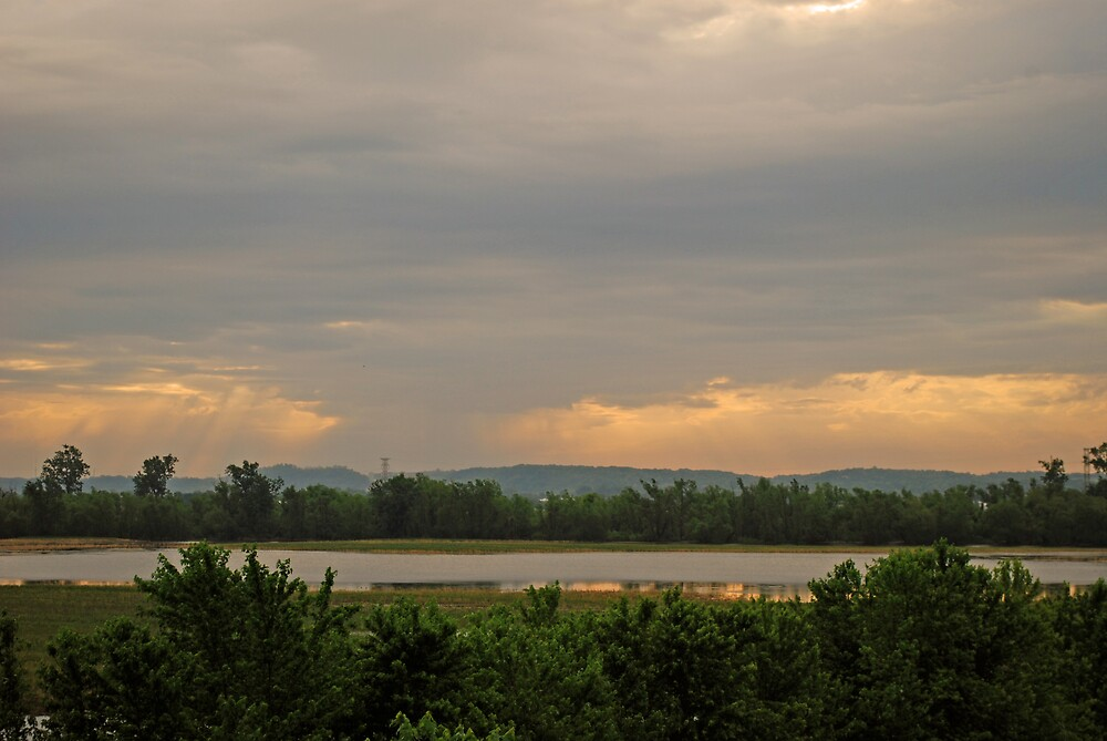 Passing Storm by Jim Caldwell