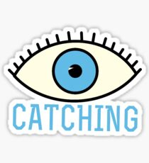EYE Catching Sticker