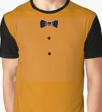 Five Nights at Freddy's Bow Tie Buttons Graphic T-Shirt