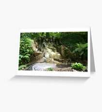 Irish Landscape - Waterfall Greeting Card