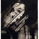 Woman In Ink D by MaritaChustak