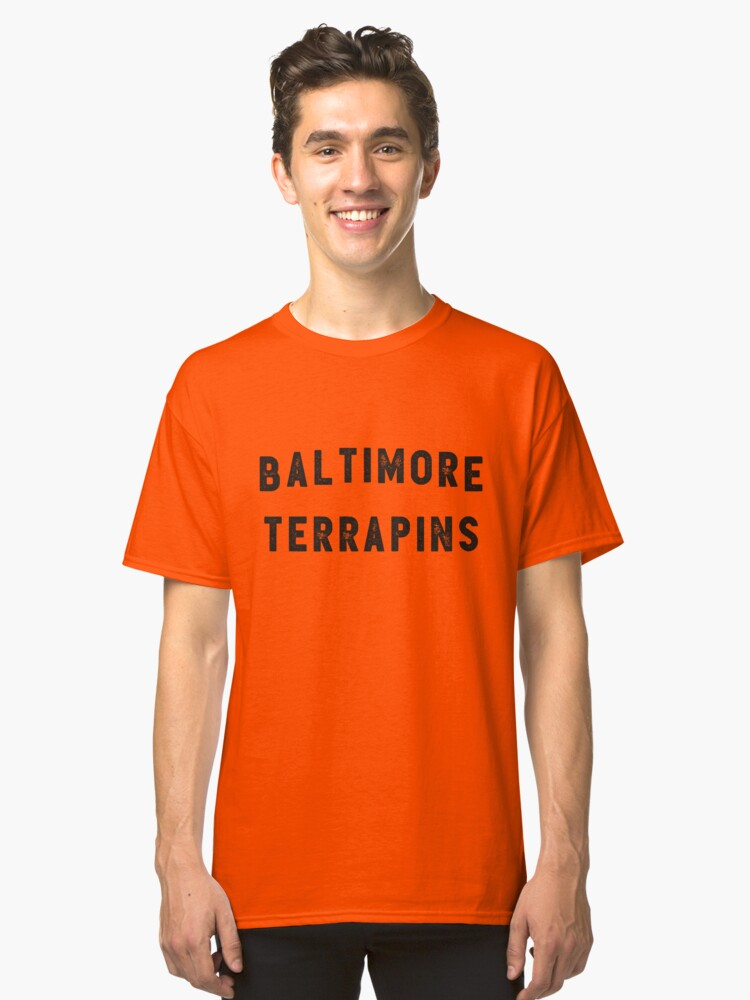 Baltimore Terrapins Classic T-Shirt Front