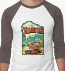 Yellowstone Or Bust... Vintage Travel Decal T-Shirt