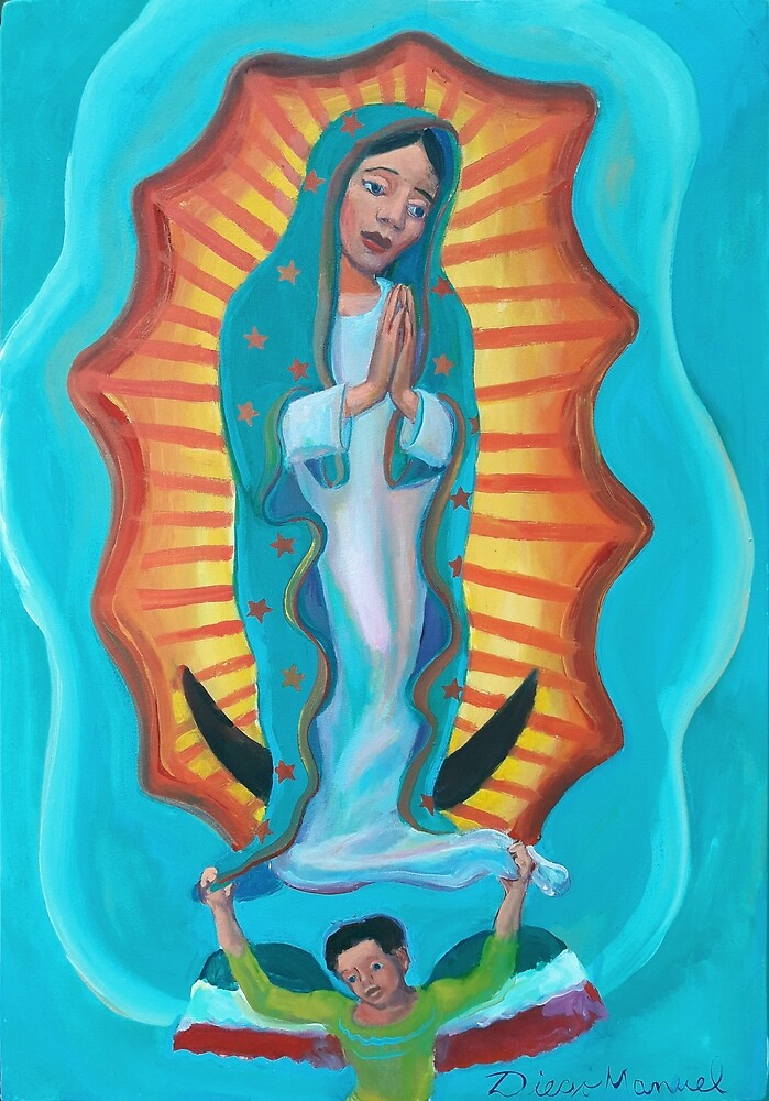 Virgin of Guadalupe 2 por Diego Manuel by Diego Manuel Rodriguez