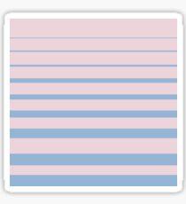 Stripes Glossy Sticker