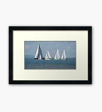 """""""Sails"""" Framed Print"""