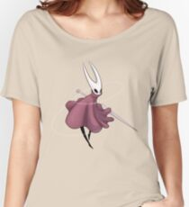 Camiseta ancha para mujer Hollow Knight inspirado guerrero