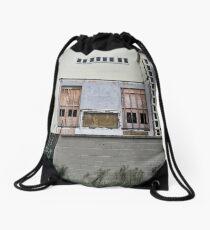 Building Ruin Drawstring Bag