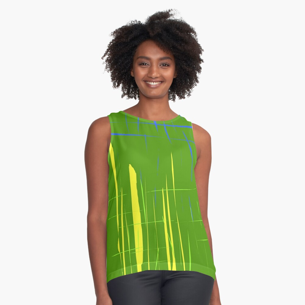 Abstract Contrast Tank Front