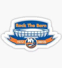 Rock the Barn- Islanders Sticker