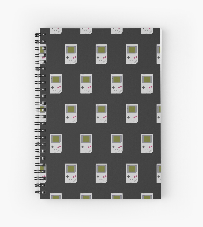 Gameboy DMG-01 pattern (black) by animinimal