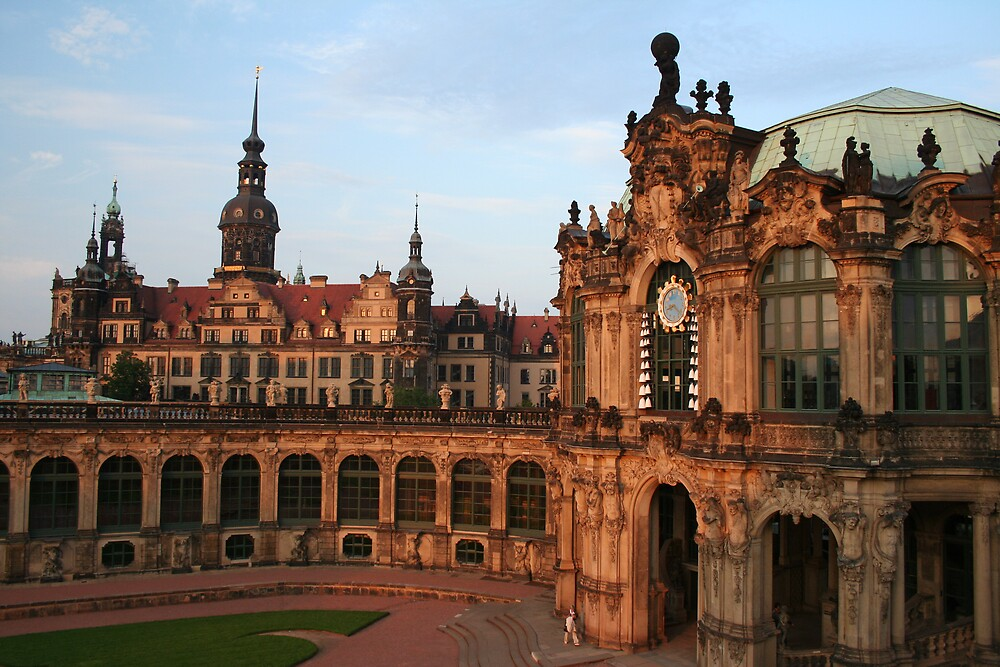 Dresden - The Zwinger by Simon Zybek