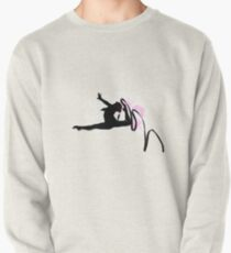 Rhythmic Gymnast Silhouette Pullover
