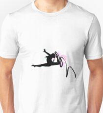Rhythmic Gymnast Silhouette Unisex T-Shirt