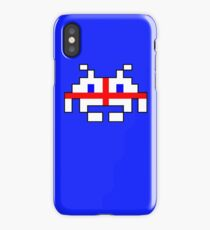 English Space Invader iPhone Case/Skin