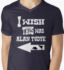 Alan Tudyk  Men's V-Neck T-Shirt