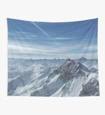 Austrian Mountains Wall Tapestry