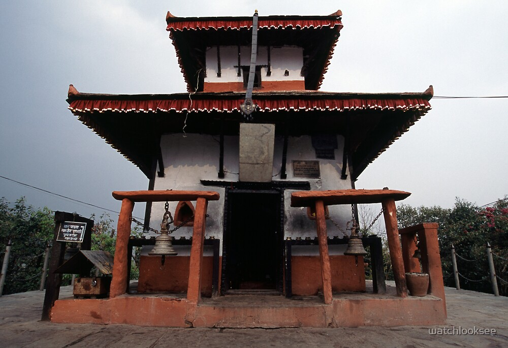 Buddhist Temple | Pokhara - Nepal by watchlooksee