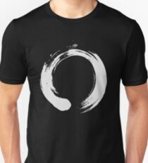 Enso Zen Buddhism Artistic Brush Stroke T-Shirt