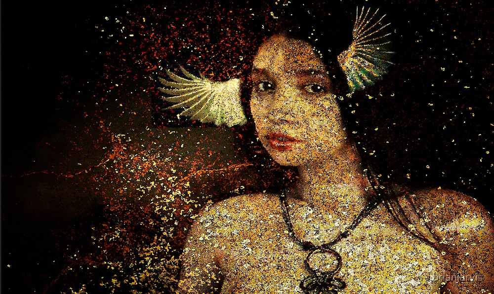 VERRUCA! (the sister of Eros, the winged messenger.) by brianjarvis