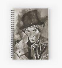 Harpo Marx Watercolor Portrait [MALC] Spiral Notebook