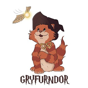 Gryfurndor Cat by TheChummel