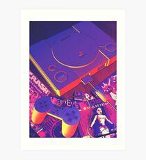 PS1 Art Print