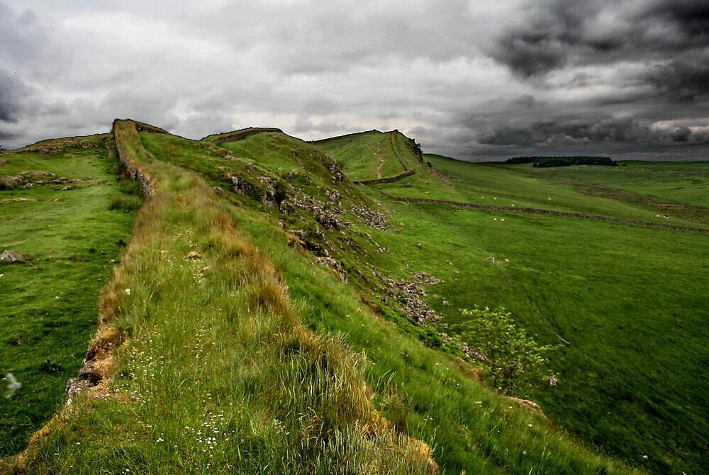 Hadrian's Wall by Simon Zybek