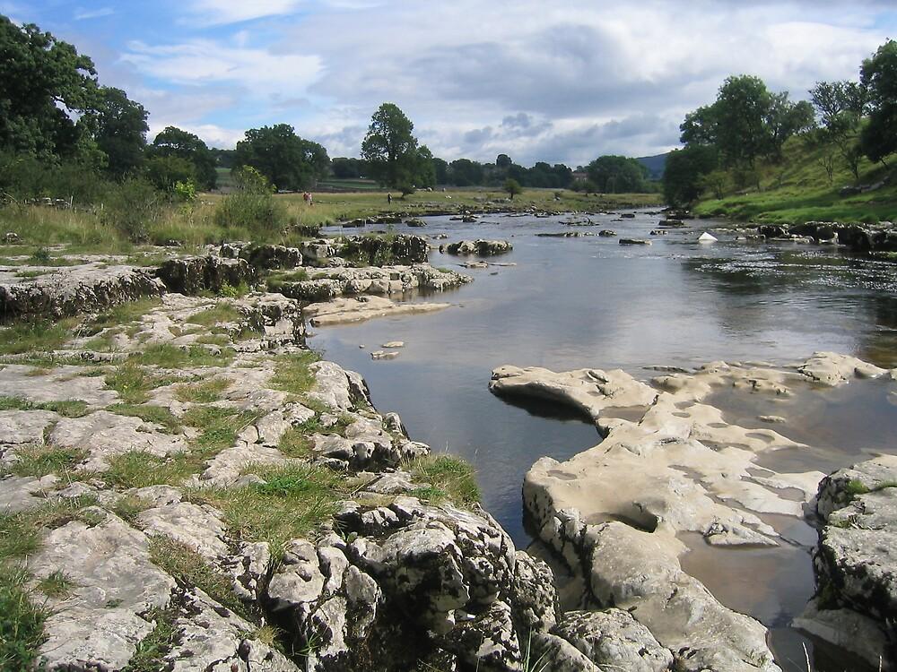 Yorkshire Dales Stream by Simon Zybek
