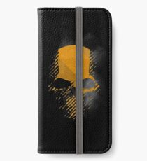 Geisterrecon Wildlands Skull Logo iPhone Flip-Case/Hülle/Klebefolie