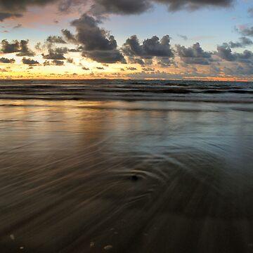 Beach Sunset by jollence