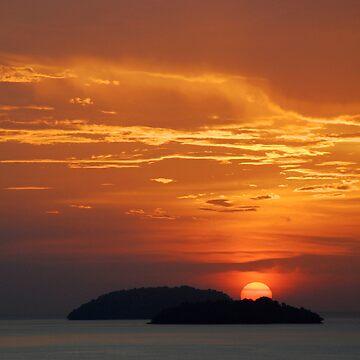 Sun Down by jollence