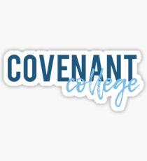 covenant college Sticker