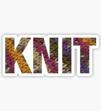 KNIT Sticker
