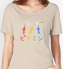 Pikmin Stylized Women's Relaxed Fit T-Shirt