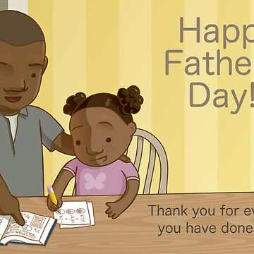 Homework Dad... Happy Father's Day! by meowsic