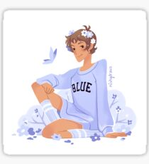 Blue Boy Sticker