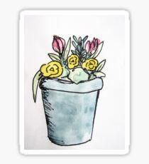 Flowers Watercolor 5 Sticker